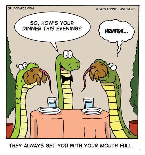 waiters restaurant snakes web comics - 8205186048