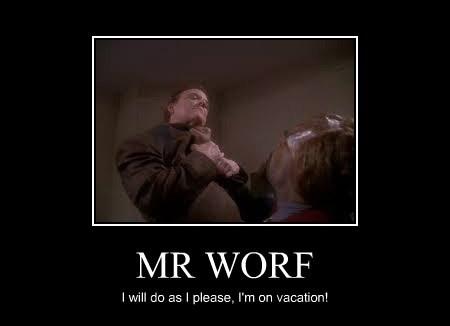 MR WORF