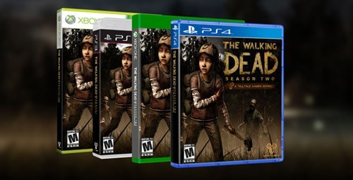 PlayStation 4 telltale games the wolf among us The Walking Dead xbox one Video Game Coverage - 8205775104