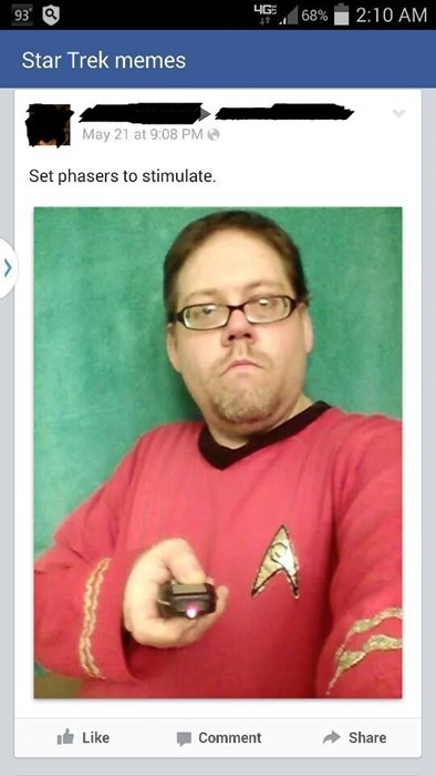 facebook,Star Trek