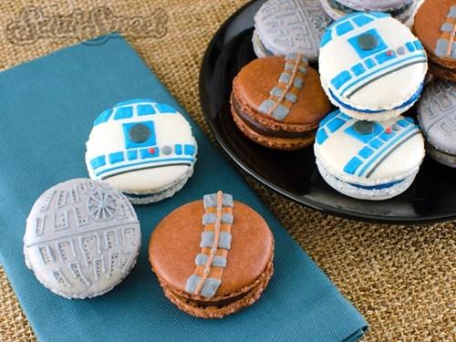 cookies star wars macaroons - 8205868032