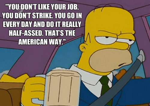 jobs work homer simpsons the simpsons - 8205963520