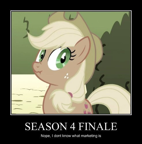 Applejack sees through your lies.