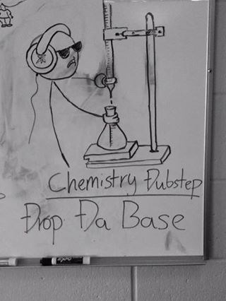 base puns drop the bass Chemistry funny