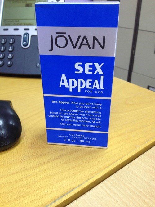 jovan cologne sexy times funny - 8206021376