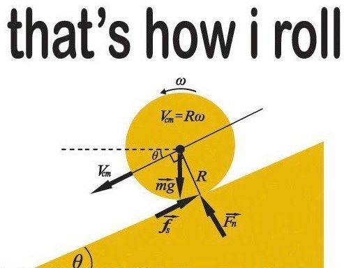 physics,rolling,science,math,funny