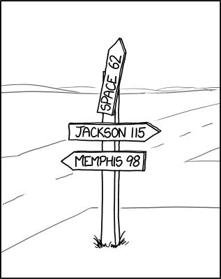 astronauts comics funny vandalism signs xkcd - 8206140416