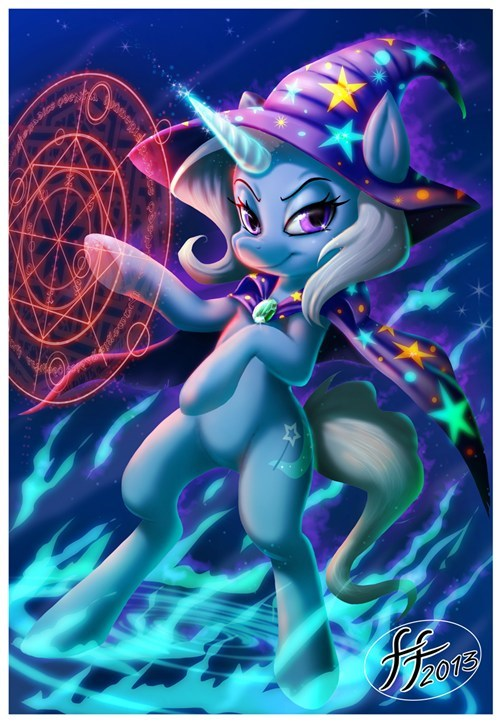 the great and powerful trixie Fan Art - 8206202112