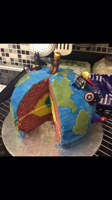 cake lego design nerdgasm - 8206237184