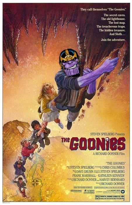 thanos the goonies Josh Brolin avengers - 8206866176