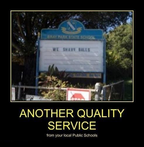 sign school wtf funny - 8207411968