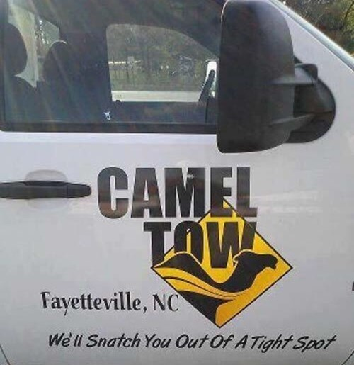 slogans,camel tow