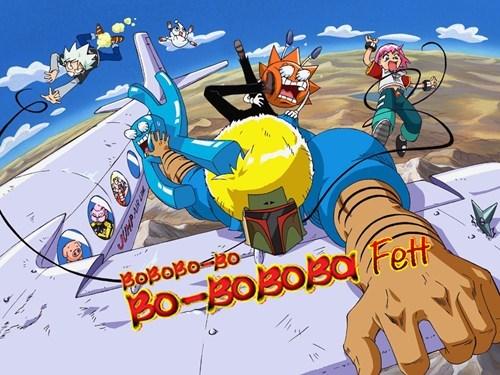 crossover star wars anime Bobobo-bo Bo-bobo - 8208202752