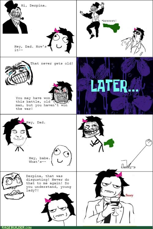 trollface double standard trolldad dad fart - 8208441088