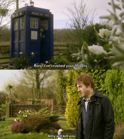 rory williams tardis 11th Doctor - 8208466688
