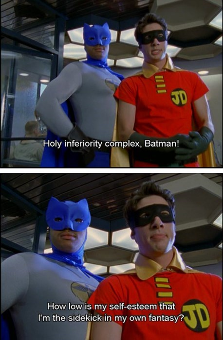fantasy robin scrubs batman - 8208503296
