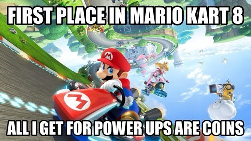 Mario Kart mario kart 8 First World Problems - 8208652544
