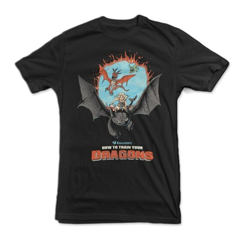 Game of Thrones for sale t shirts How to train your dragon - 8208788224