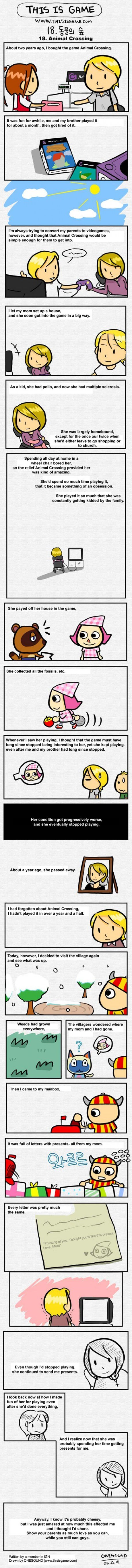 Sad moms animal crossing web comics