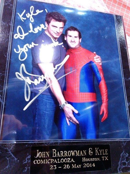 autograph cosplay convention john barrowman - 8208918272