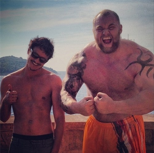 behind the scenes Game of Thrones oberyn martell season 4 - 8208968192