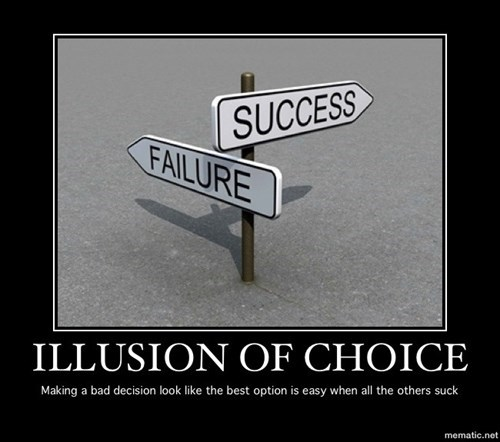 failure success choices funny illusion - 8208973824