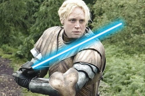 brienne of tarth,news,star wars,Game of Thrones,celeb,gwendoline christie,lupita nyong'o