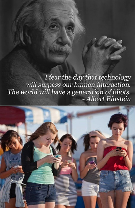 smartphones,technology,albert einstein