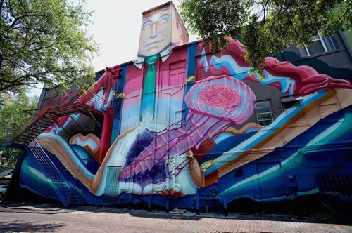 Street Art graffiti hacked irl - 8209130240