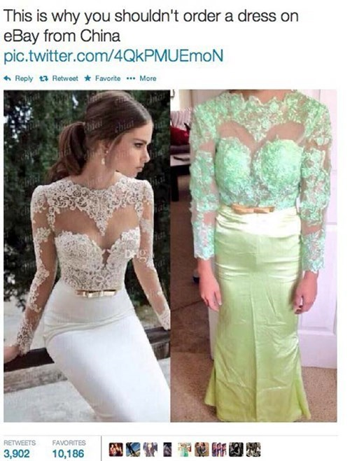 twitter design wedding dress knockoff failbook g rated - 8209146880