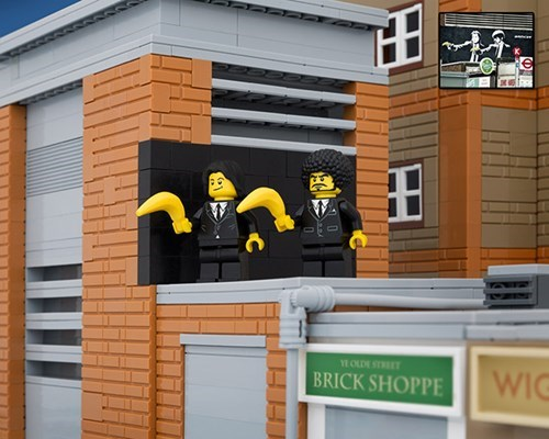banksy lego nerdgasm graffiti hacked irl - 8209164288
