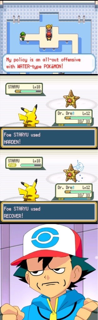 staryu misty battling - 8209166080