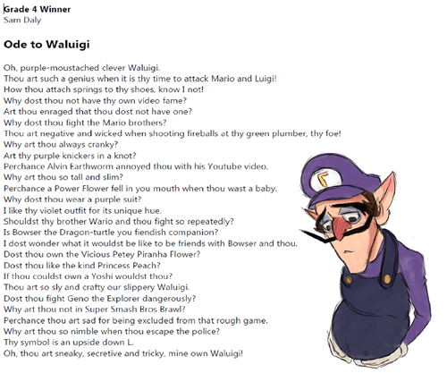waluigi poetry - 8209182464