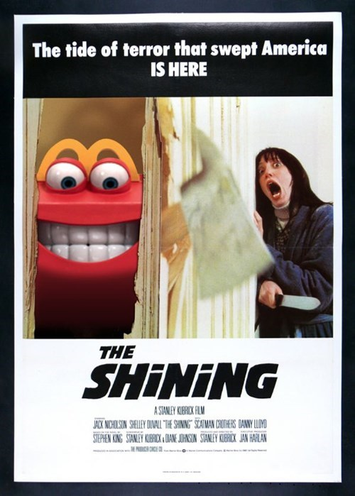 happy meal,McDonald's,the shining
