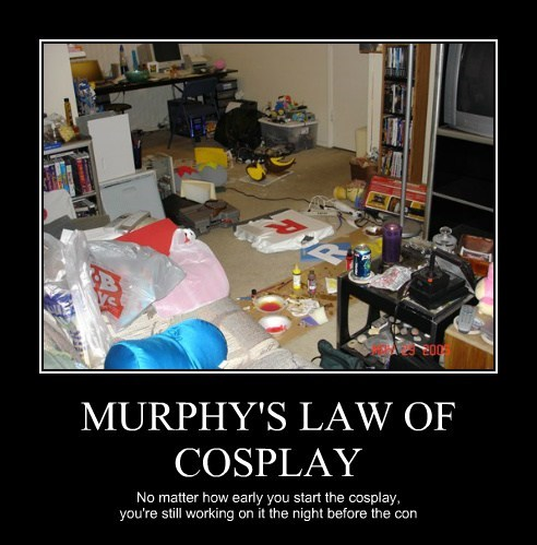 cosplay procrastination funny - 8209427200