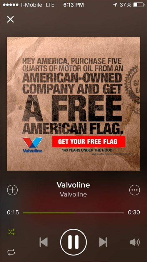 flags valvoline - 8209481472