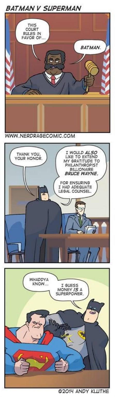 Batman v Superman,money,web comics