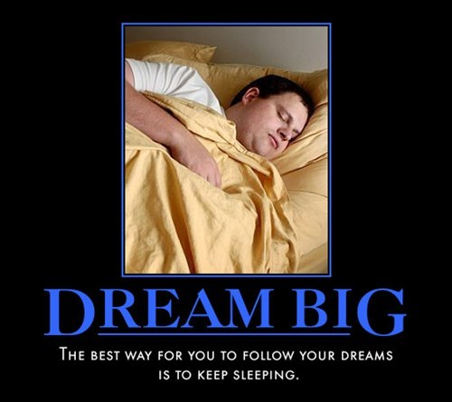 good idea dreams sleeping funny
