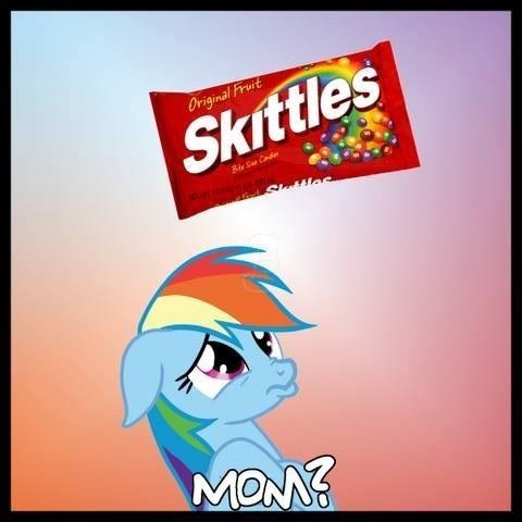 that sounds naughty skittles rainbow dash
