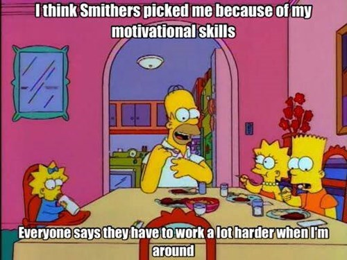 monday thru friday homer simpson motivational coworkers the simpsons