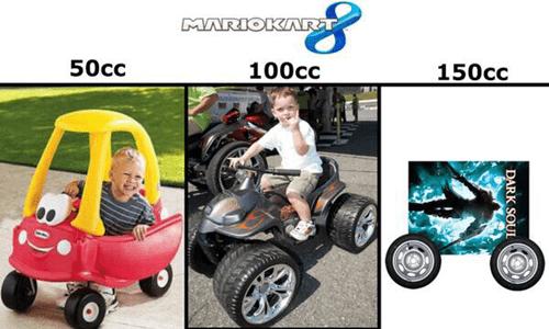 mario kart 8 dark souls video games nintendo - 8210167808