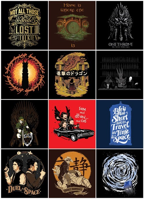 artist tshirts middle earth