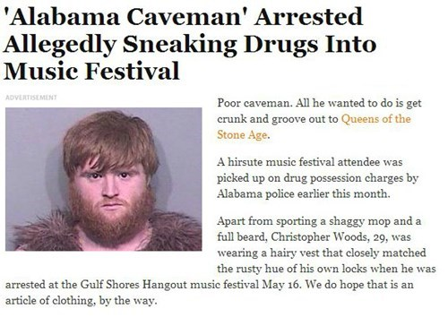 news Caveman Probably bad News