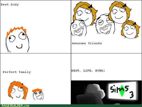 forever alone video games The Sims - 8210414592