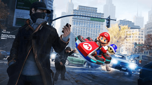 Watch_dogs wii U Mario Kart nintendo Video Game Coverage - 8211006464