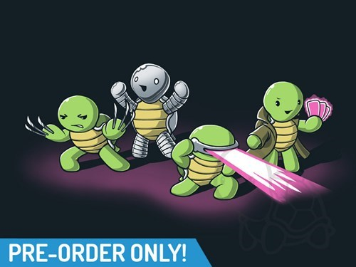 for sale x men TMNT tshirts - 8211171584