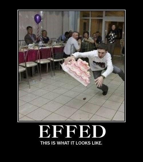 cake falling funny effed - 8211214336