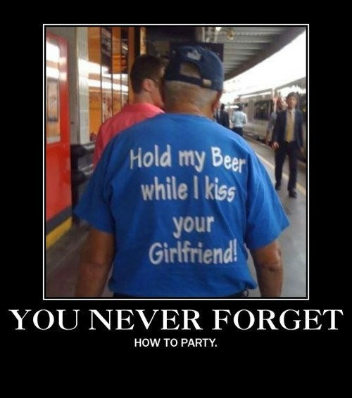 old guy,T.Shirt,Party,funny