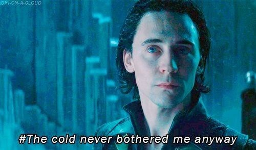 loki,Thor,frozen