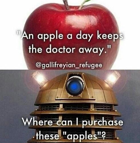 time war daleks apples - 8211293952